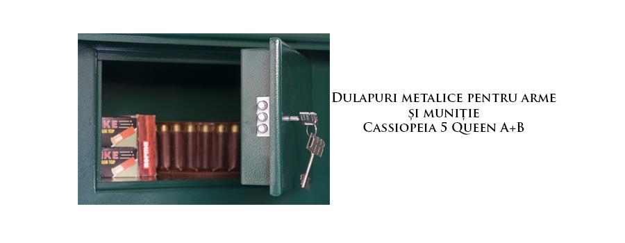 Dulapuri metalice arme şi muniţie cu construcţie întărită