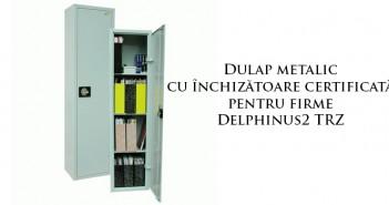 Dulap metalic pentru documente cu închizătoare certificată