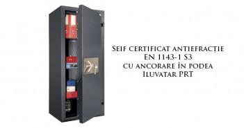 Seifuri certificate cu prindere în podea prețuri ieftine