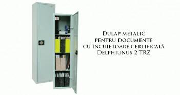 Dulap metalic pentru documente cu încuietoare certificată de calitate