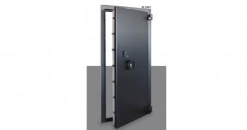 Uși blindate pentru camere de tezaur