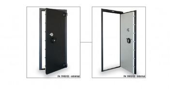 Uși blindate pentru camere de tezaur de calitate