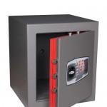 Seif cu închidere electromică rezistent la foc 30 minute Nun DRA