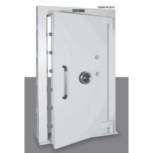 Uși de tezaur blindate antiefracție certificate EN 1143-1 preț
