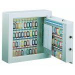 Dulapuri antiefractie cu placa in interior pentru chei, dulapuri sigure pentru chei, dulapuri cu inchidere electronica pentru chei