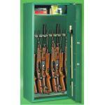 Dulap de arme cu caseta pentru munitie si usa blindata Brignoles 8