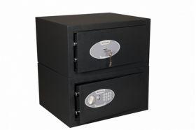 Seifuri mici pentru laptop cu inchidere mecanica sau electronica Pomona DRA