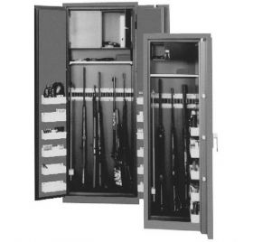 Dulap de arme si munitii cu grad de protectie la efractie 0 Theropod PES-0-BS 4W DSL