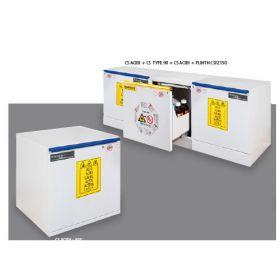 Seif de laborator pentru acizi si baze Tharapita BRD