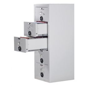Dulap metalic seif mecanic cu sertare rabatabile Divio 2