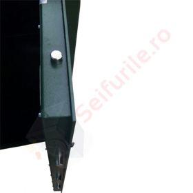 Dulap arme cu cheie cu barbie dubla Hilarus WK 8010 DBR 6