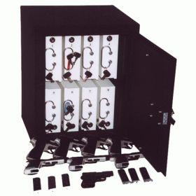 Dulap metalic cu compartimente cu cheie pentru pistoale Crater 44105 TRZ