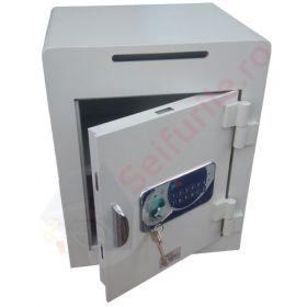 Seifuri cu fanta/fara pentru bani cu inchidere electronica temporizata si certificare EN 1143-1, gradul I Goburn VTB