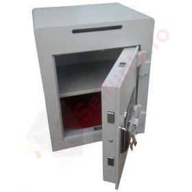 Seifuri cu fanta/fara pentru bani cu inchidere electronica temporizata si certificare EN 1143-1, gradul I Goburn VTB 2