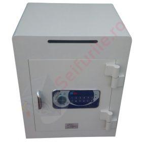 Seifuri cu fanta/fara pentru bani cu inchidere electronica temporizata si certificare EN 1143-1, gradul I Goburn VTB 5
