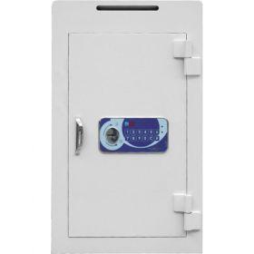 Seifuri cu fanta/fara pentru bani cu inchidere electronica temporizata si certificare EN 1143-1, gradul I Goburn VTB 6