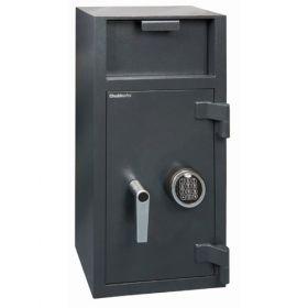Casa de bani tip seif cu fanta cu cheie sau blocare electronica Omega Deposit CHUBB 8