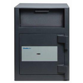 Casa de bani tip seif cu fanta cu cheie sau blocare electronica Omega Deposit CHUBB 7