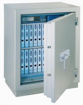 Casa de bani antifoc cu cifru mecanic MegaPaper 180 Premium