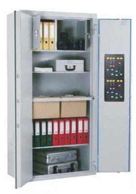 Dulapuri electronice pentru documente in doua usi Marker DKS 1208 EGB DBR