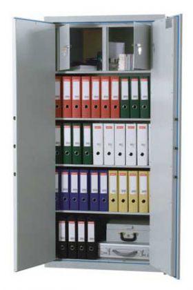 Dulap electronic antifoc pentru acte Peipus DKS 1108 EGB DBR