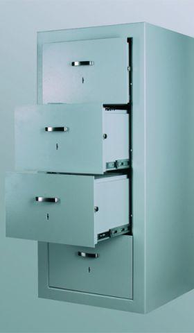 Dulap metalic seif mecanic cu sertare rabatabile Divio